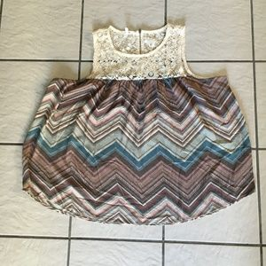 Maurices Crochet Tank Top